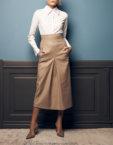 Платье миди в принт SOL_SOW2019D10, фото 3 - в интеренет магазине KAPSULA