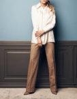 Прямые брюки из джерси SOL_SOW2019T09, фото 3 - в интеренет магазине KAPSULA