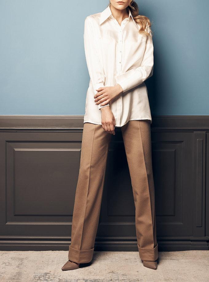 Прямые брюки с шерсти SOL_SOW2019T10, фото 1 - в интеренет магазине KAPSULA