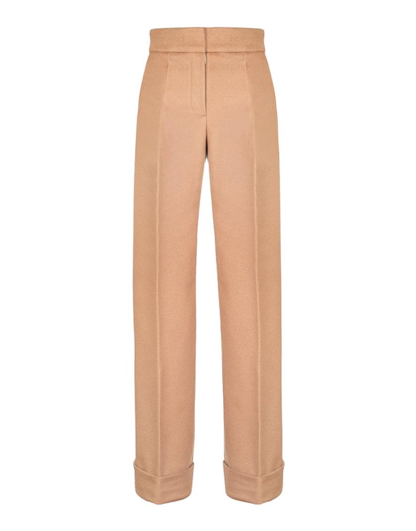 Прямые брюки с шерсти SOL_SOW2019T10, фото 1 - в интернет магазине KAPSULA