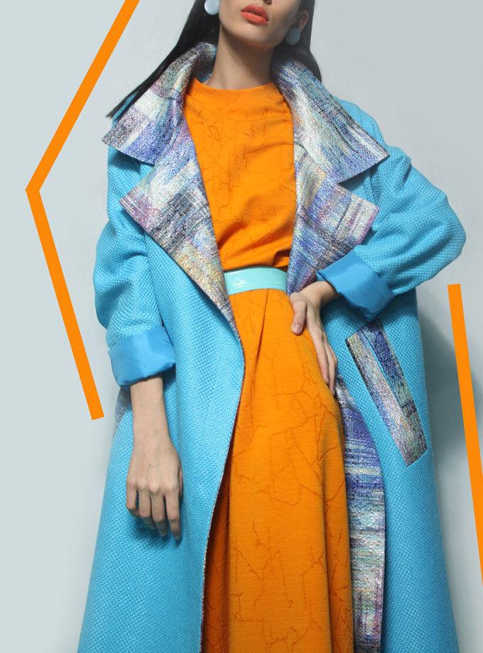 Легкое пальто из хлопка TBC_19057cv_0212, фото 1 - в интеренет магазине KAPSULA