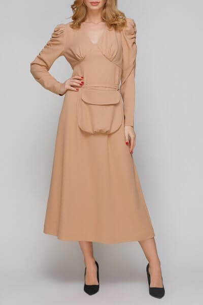 Платье с поясом-сумкой AY_2850, фото 4 - в интеренет магазине KAPSULA