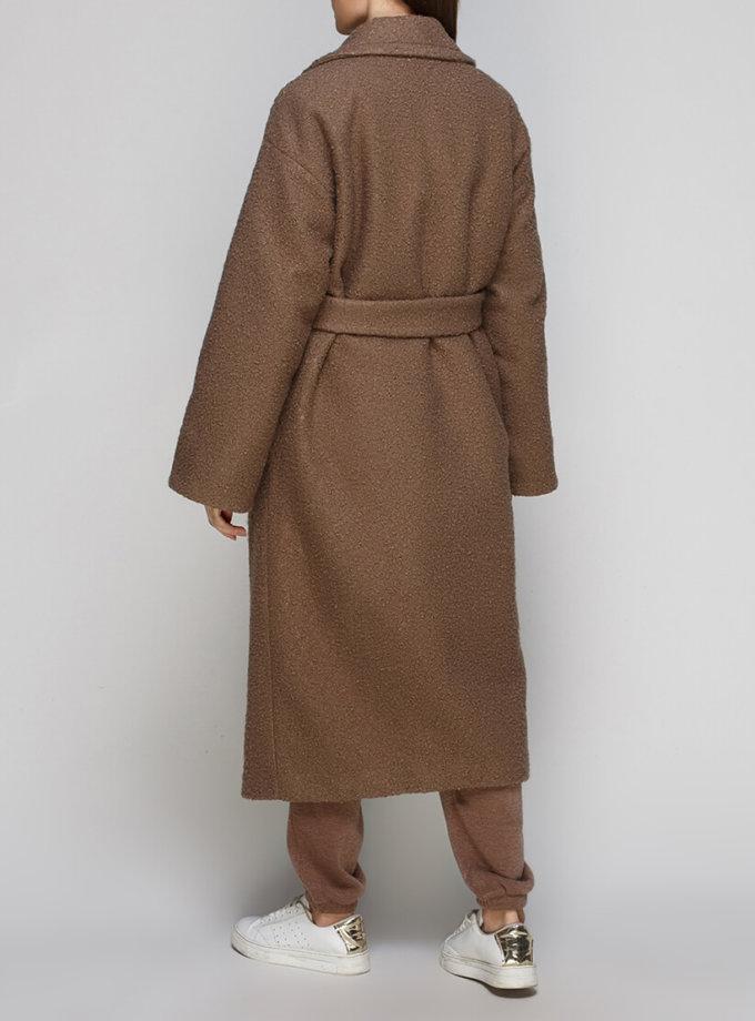 Пальто из шерсти под пояс AY_2875, фото 1 - в интеренет магазине KAPSULA