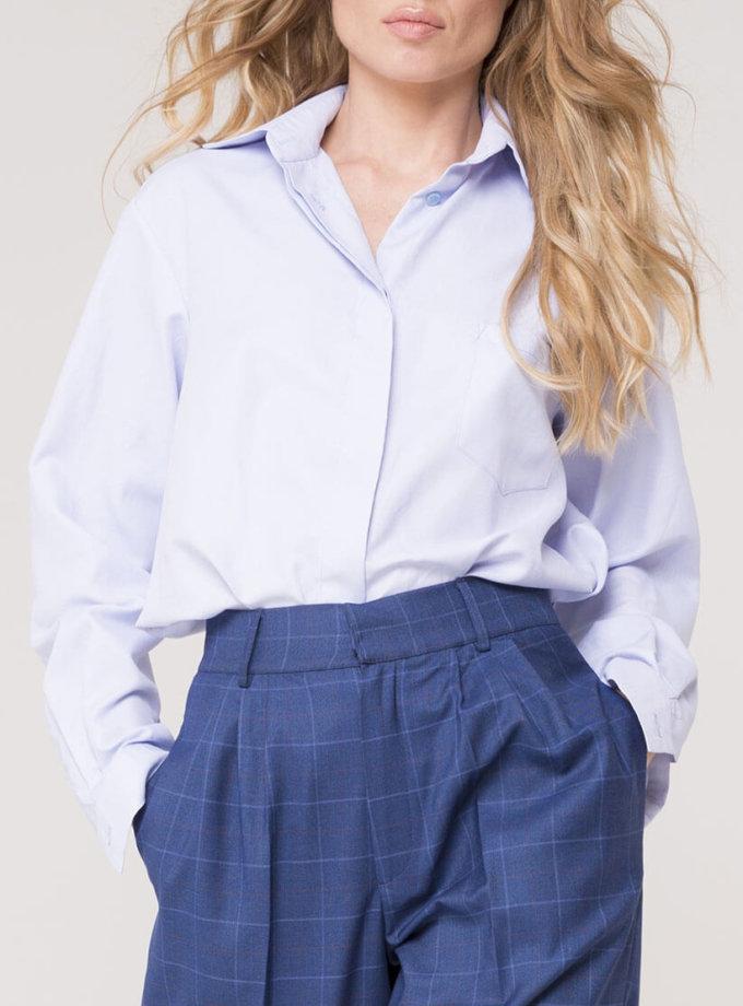 Рубашка классическая из хлопка AD_011119, фото 1 - в интернет магазине KAPSULA
