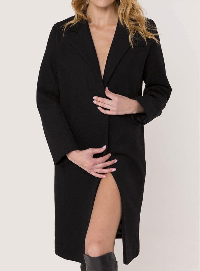 Прямое пальто из шерсти AD_021119_outlet, фото 1 - в интеренет магазине KAPSULA