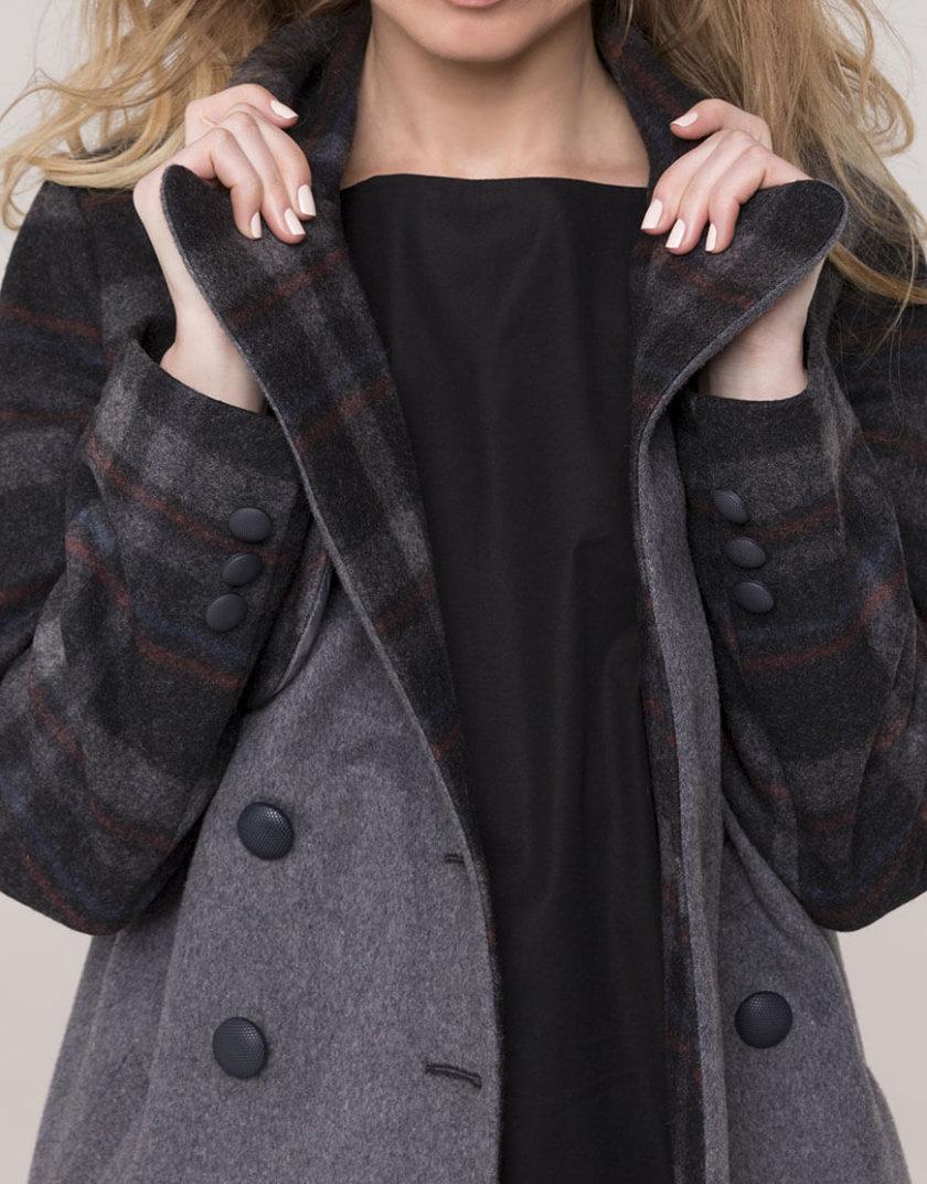 Двубортное пальто из шерсти AD_031119_outlet, фото 1 - в интеренет магазине KAPSULA