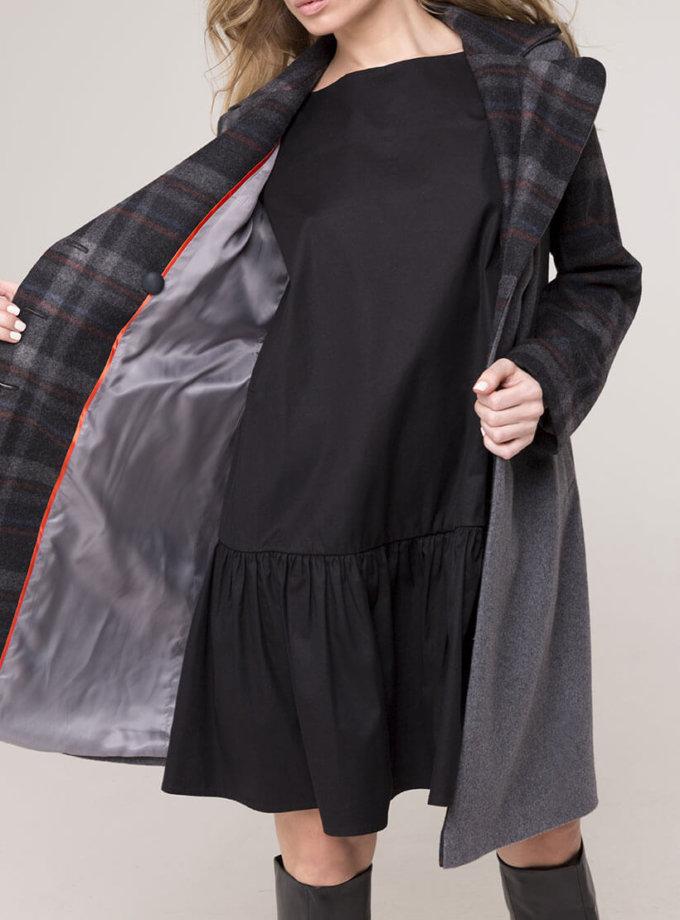Двубортное пальто из шерсти AD_031119_outlet, фото 1 - в интернет магазине KAPSULA