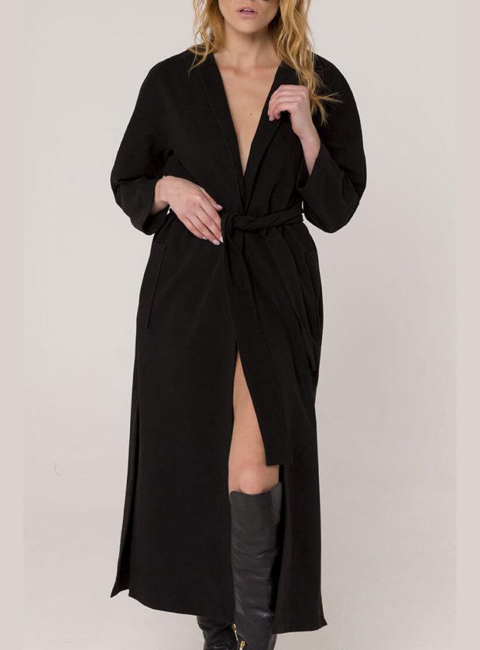 Пальто из шерсти с разрезами AD_051119_outlet, фото 1 - в интеренет магазине KAPSULA