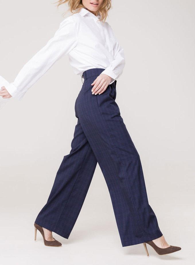 Широкие брюки на высокой посадке AD_141119_outlet, фото 1 - в интернет магазине KAPSULA
