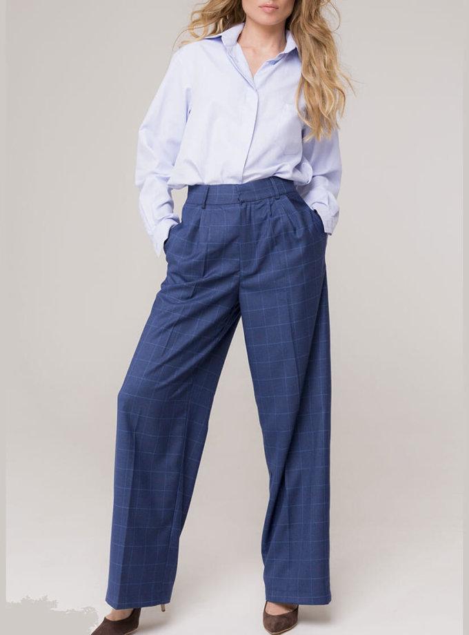 Широкие брюки на высокой посадке AD_151119_outlet, фото 1 - в интеренет магазине KAPSULA