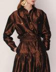 Плащ-платье с капюшоном ARS_W19-20-017, фото 3 - в интеренет магазине KAPSULA