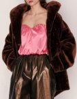 Шелковое платье мини ARS_W19-20-044, фото 2 - в интеренет магазине KAPSULA