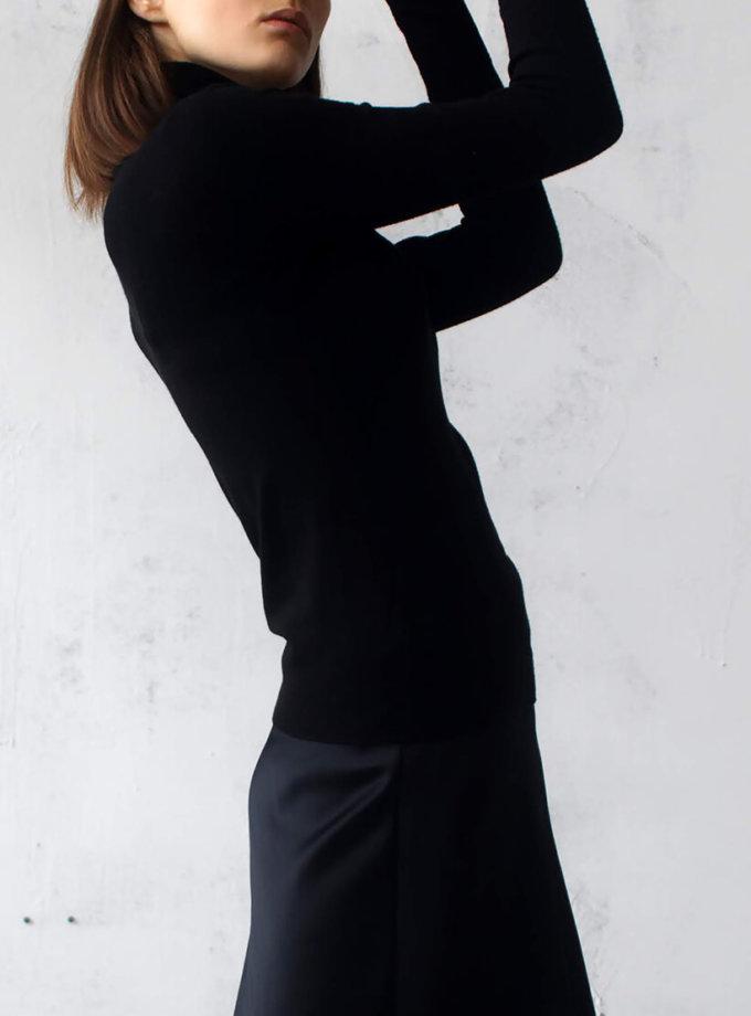 Гольф с разрезом на рукаве NBL_02-GTW-black_outlet, фото 1 - в интернет магазине KAPSULA
