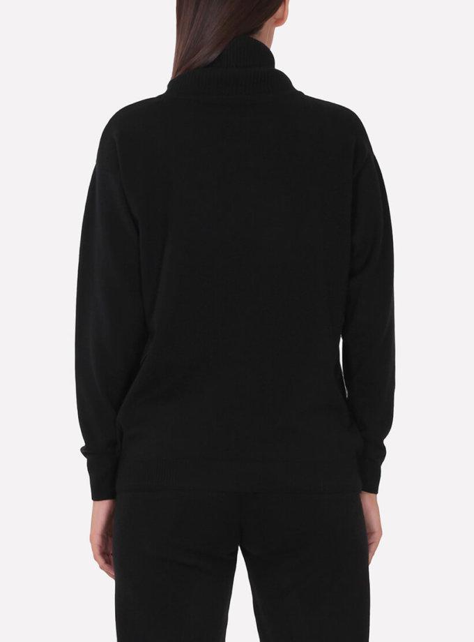 Мериносовый  свитер JND_16-010216-black, фото 1 - в интеренет магазине KAPSULA