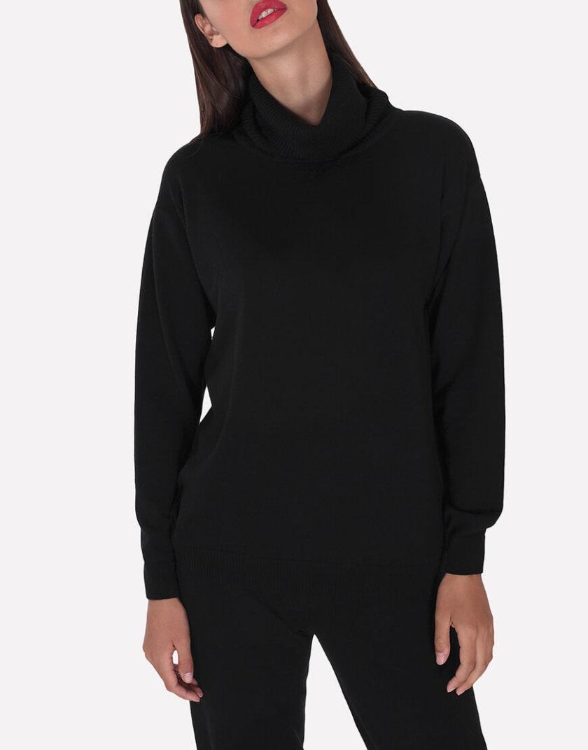 Мериносовый  свитер JND_16-010216-black, фото 1 - в интернет магазине KAPSULA