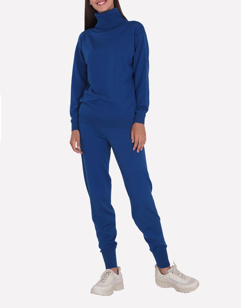 Мериносовые брюки-джогеры JND_19-012109-blue, фото 1 - в интернет магазине KAPSULA
