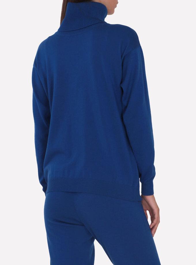 Мериносовый  свитер JND_16-010216-blue, фото 1 - в интернет магазине KAPSULA