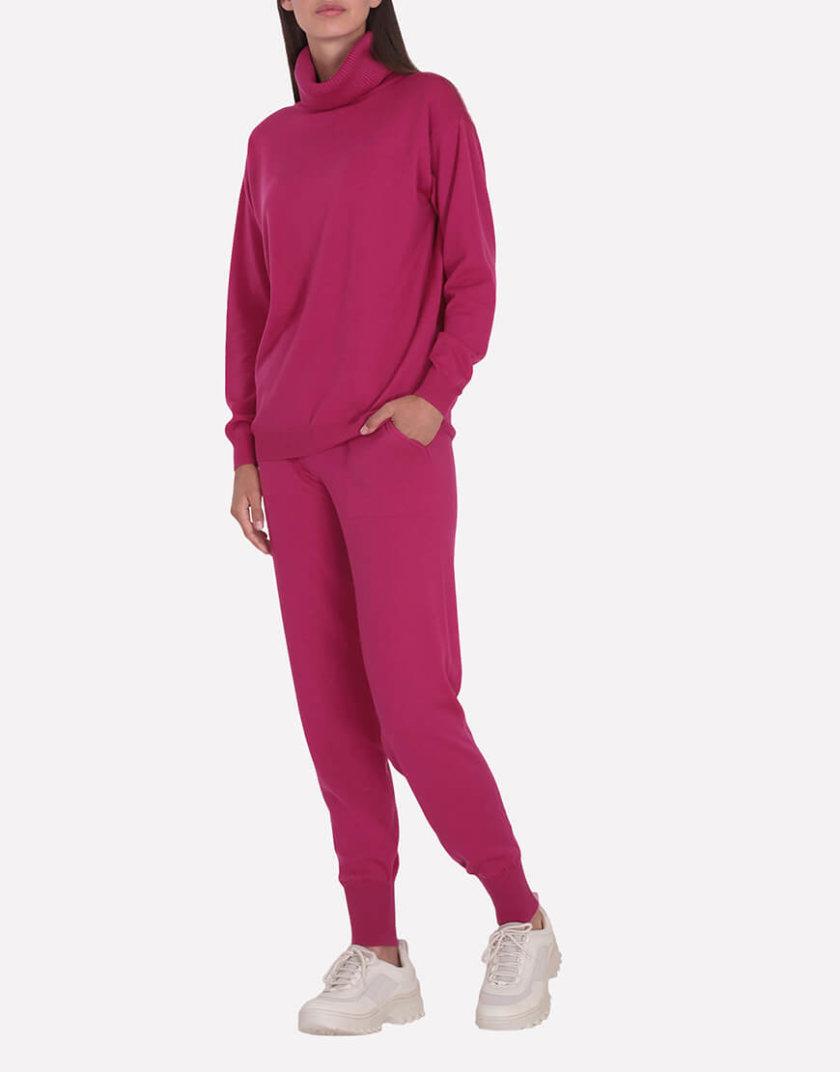 Мериносовые брюки-джогеры JND_19-012109-redpink, фото 1 - в интернет магазине KAPSULA