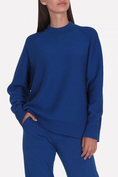 Мериносовый  джемпер JND_18-010226-blue, фото 1 - в интеренет магазине KAPSULA