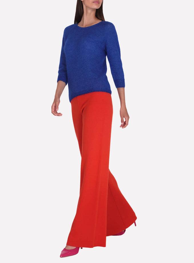 Широкие брюки из шерсти JND_16-012104-orange, фото 1 - в интернет магазине KAPSULA