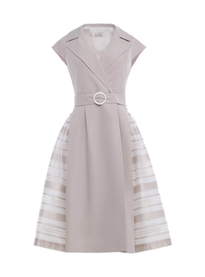 Платье на запах MNTK_MTS20J61, фото 1 - в интеренет магазине KAPSULA