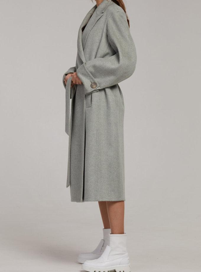 Двубортное пальто из шерсти SAYYA_FW945, фото 1 - в интернет магазине KAPSULA