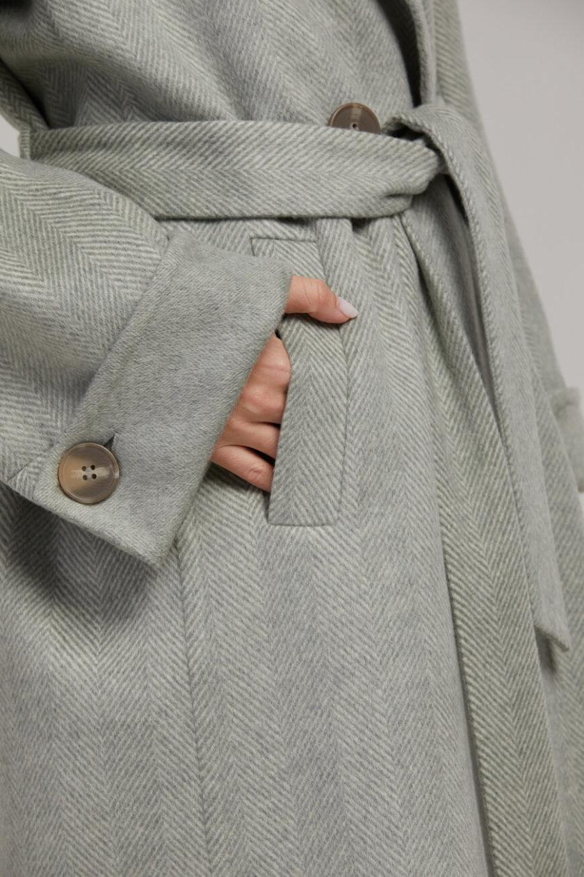 Двубортное пальто из шерсти SAYYA_FW945, фото 1 - в интеренет магазине KAPSULA