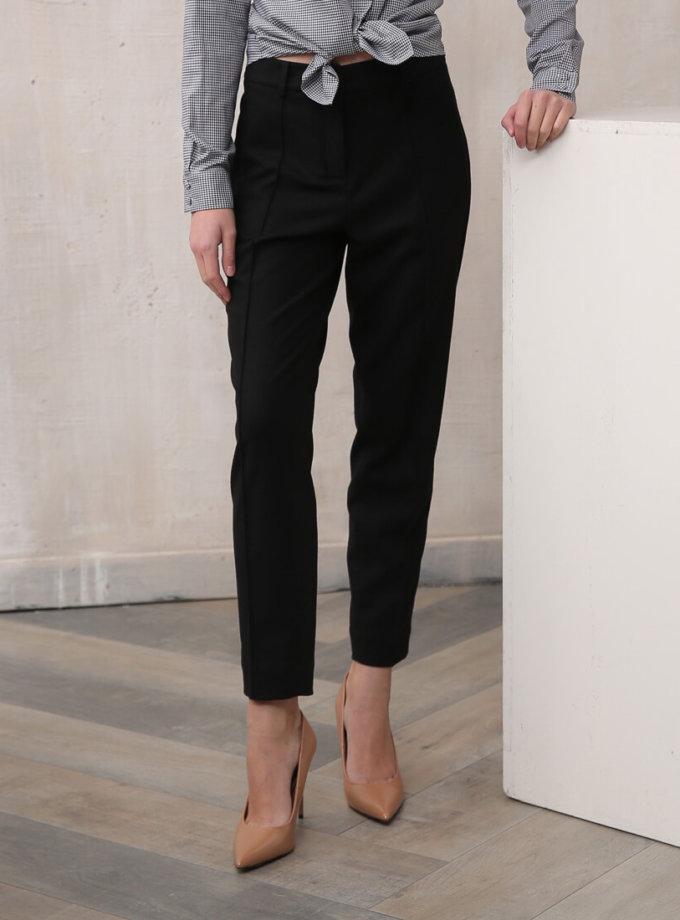 Зауженные брюки из шерсти VONA_FW-19-20-110, фото 1 - в интернет магазине KAPSULA