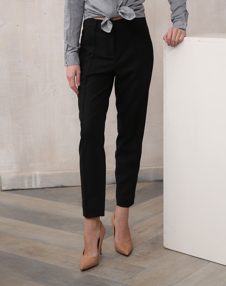 Зауженные брюки из шерсти VONA_FW-19-20-110, фото 1 - в интеренет магазине KAPSULA