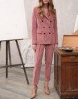 Зауженные брюки из шерсти VONA_FW-19-20-110, фото 2 - в интеренет магазине KAPSULA