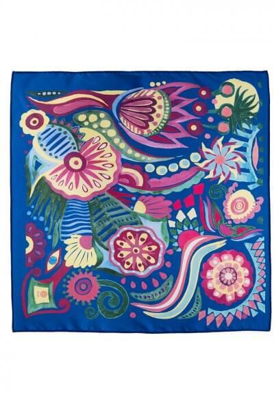 Шелковый платок Волшебная Сказка 50*50 OLZ_KS_SS157, фото 1 - в интеренет магазине KAPSULA