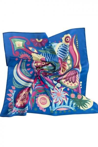 Шелковый платок Волшебная Сказка 90*90 OLZ_KS_SS156, фото 1 - в интеренет магазине KAPSULA