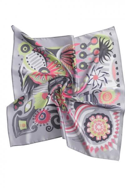 Шелковый платок В мире сказок 90*90 OLZ_KS_SS163, фото 1 - в интеренет магазине KAPSULA