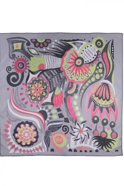 Шелковый платок В мире сказок 50*50 OLZ_KS_SS164, фото 1 - в интеренет магазине KAPSULA