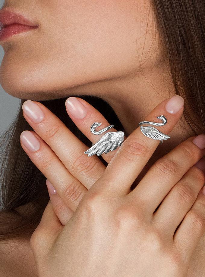Серебряное кольцо на фалангу YSB_К-791-3, фото 1 - в интеренет магазине KAPSULA