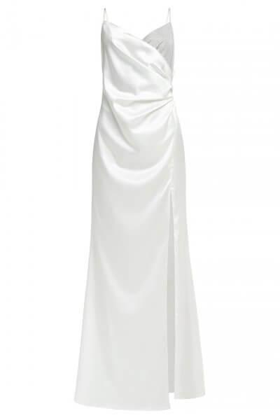 Шелковое платье макси на тонких бретелях IVNR_F19-20.20.528.537.001-1, фото 1 - в интеренет магазине KAPSULA