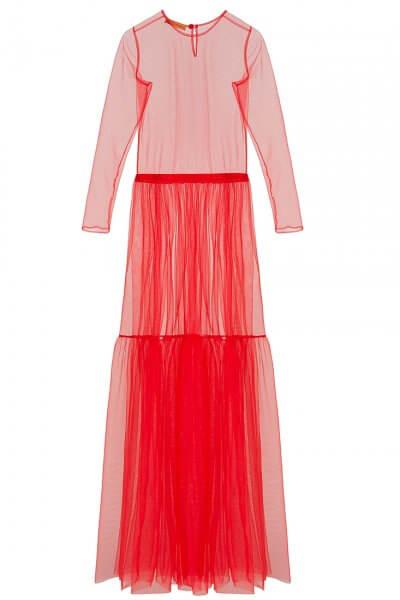 Прозрачное платье из сетки IVNR_F19-20.564.528.5.001, фото 1 - в интеренет магазине KAPSULA