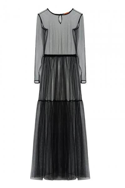 Прозрачное платье из сетки IVNR_F19-20.564.528.2.001, фото 1 - в интеренет магазине KAPSULA