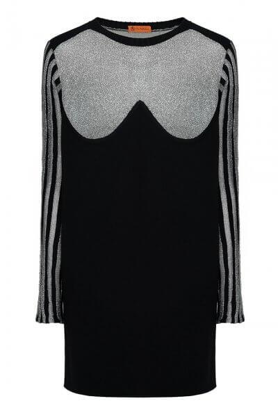 Платье из шерсти с люрексом IVNR_F19-20.32.575.001, фото 1 - в интеренет магазине KAPSULA