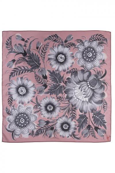 Шелковый платок Розовый пепел 50*50 OLZ_KS_SS162, фото 1 - в интеренет магазине KAPSULA