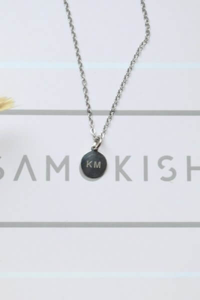 Подвес из серебра с вашим текстом SMKSH_personalizatsia, фото 1 - в интеренет магазине KAPSULA