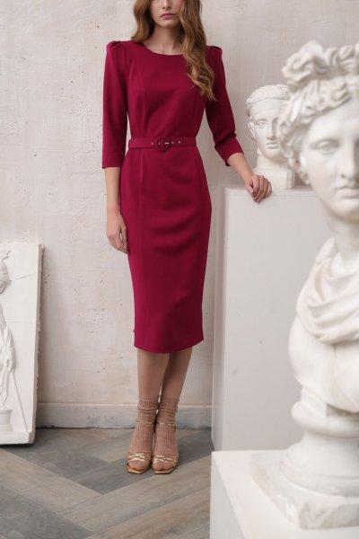 Платье футляр VONA_FW-19-20-102, фото 4 - в интеренет магазине KAPSULA