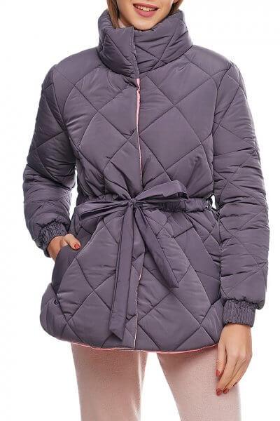 Укороченная куртка на кулиске AY_2892, фото 5 - в интеренет магазине KAPSULA