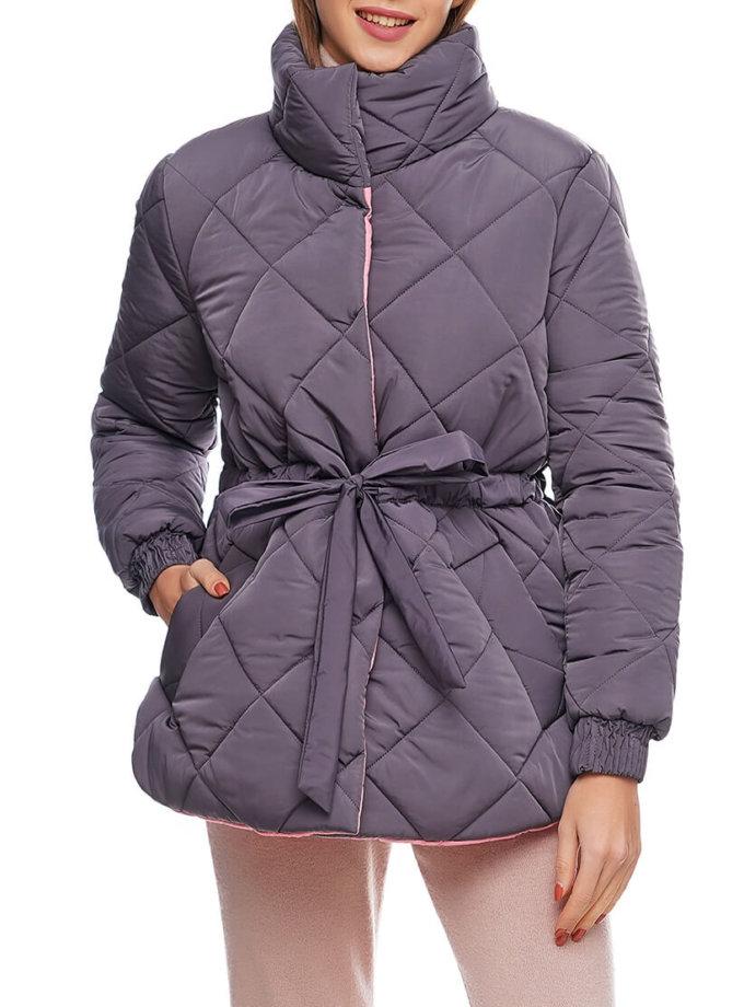 Укороченная куртка на кулиске AY_2892, фото 1 - в интернет магазине KAPSULA