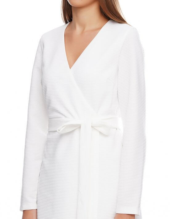 Платье макси на запах AY_2897, фото 3 - в интеренет магазине KAPSULA