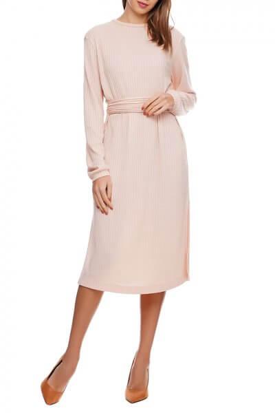 Платье миди с поясом AY_2904, фото 1 - в интеренет магазине KAPSULA