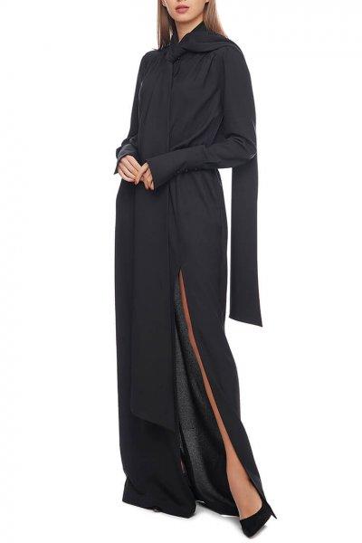 Платье макси с разрезом AY_2906, фото 3 - в интеренет магазине KAPSULA