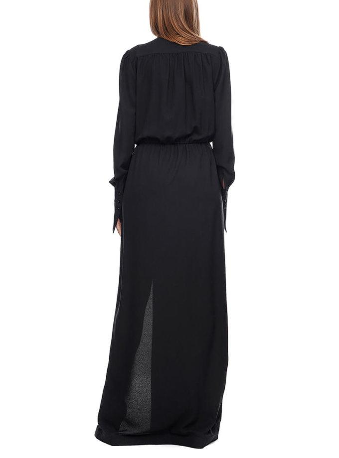 Платье макси с разрезом AY_2906, фото 1 - в интернет магазине KAPSULA
