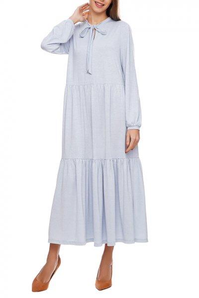 Платье макси в три яруса AY_2907, фото 1 - в интеренет магазине KAPSULA