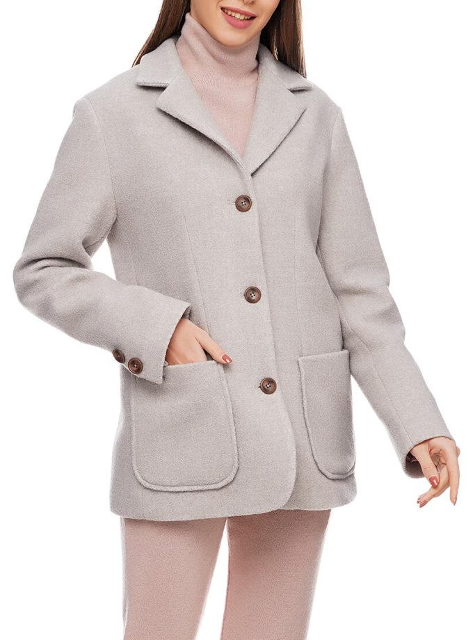 Жакет с накладными карманами  из шерсти AY_2908, фото 1 - в интеренет магазине KAPSULA